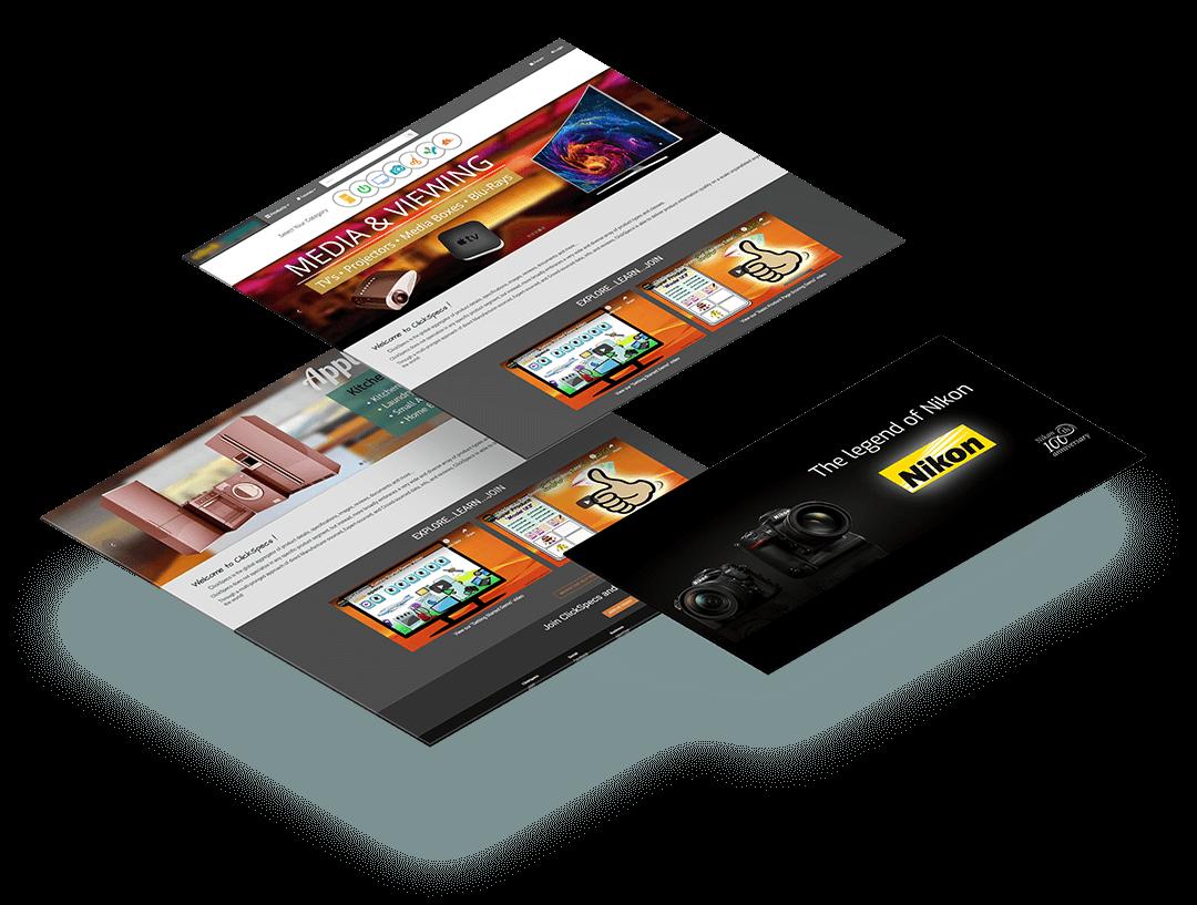 clickspecs - neonwiz portfolio