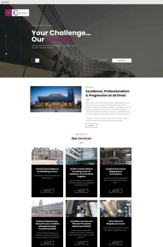 evolve property - neonwiz portfolio